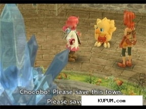 Final Fantasy Fables: Chocobos Dungeon (2007/Wii/ENG). Скриншот №2