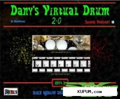 Danys Virtual Drum 2.0 Beta 3[2011-й год]г.